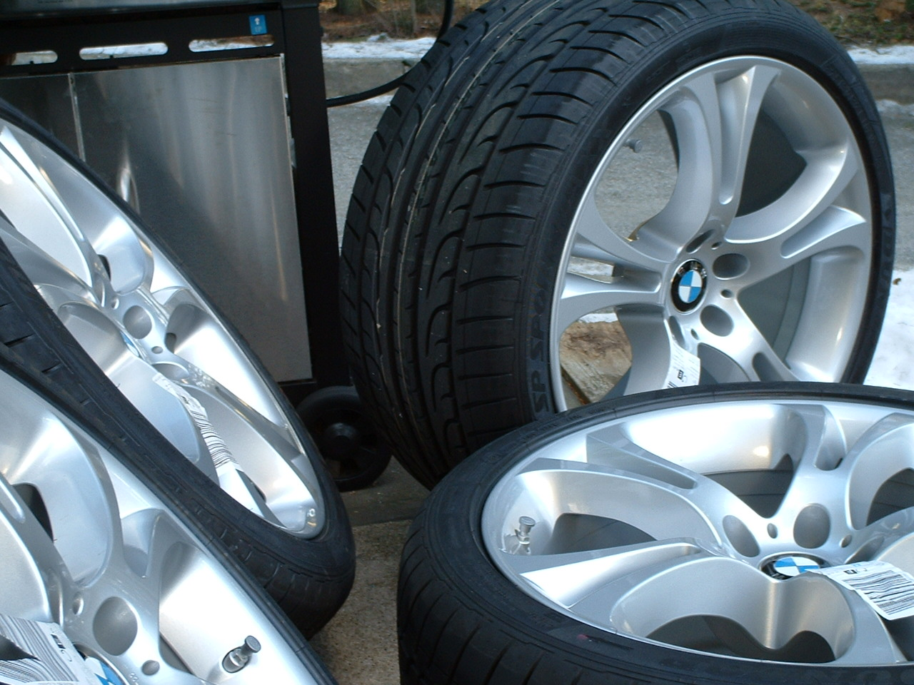 to a new BMW wheel style,