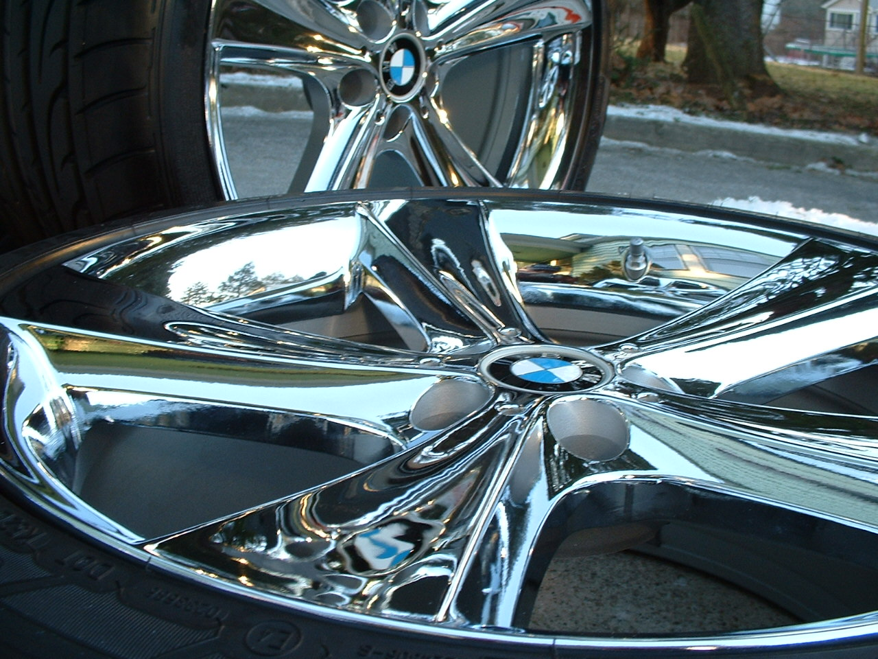 E65 E66 Bmw Oem Style 128 21 Quot Chrome
