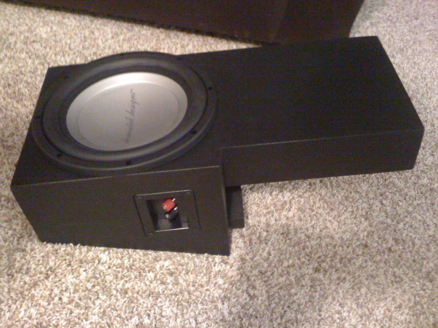 Custom built speaker box
