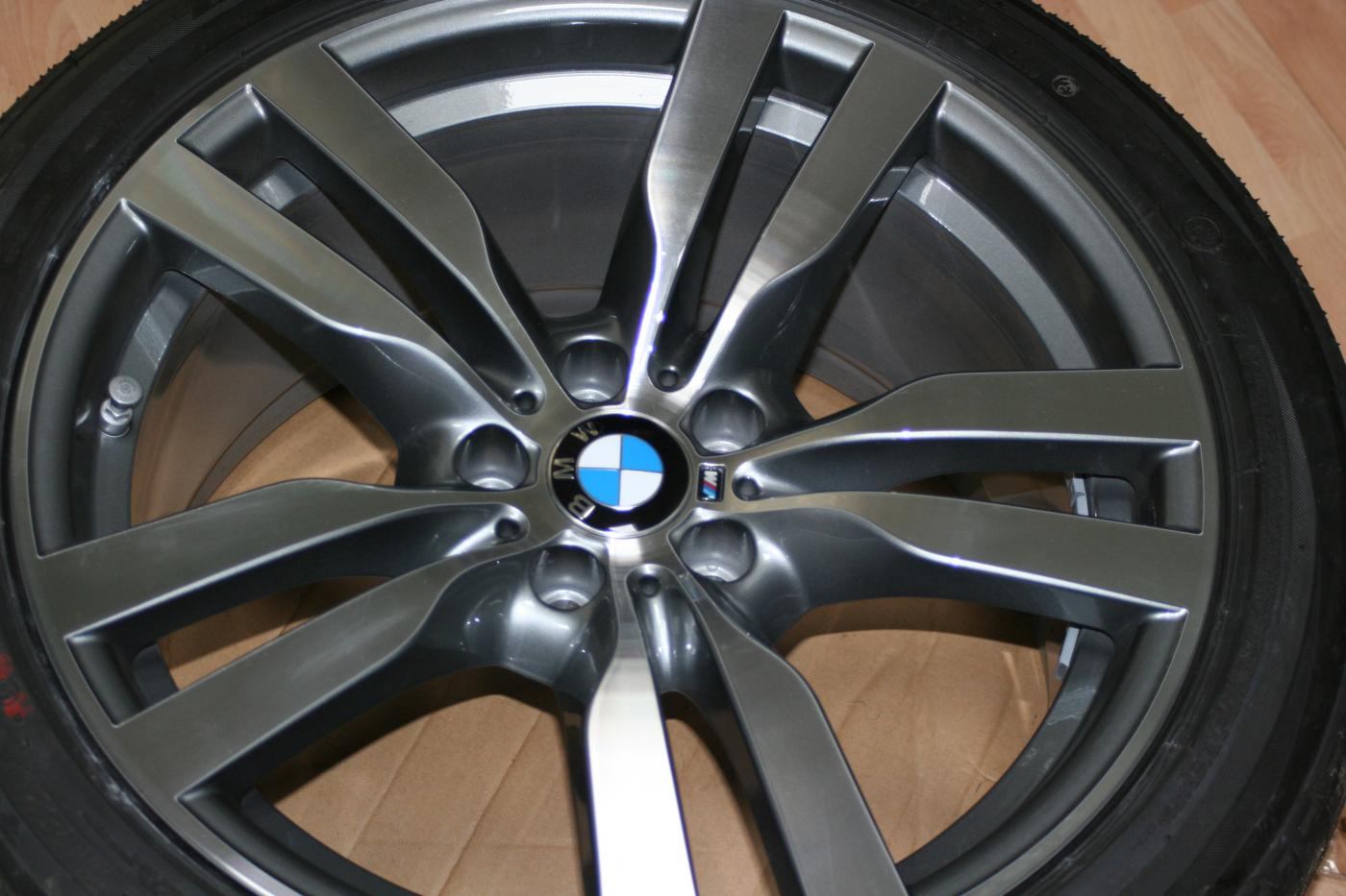 "BMW X6///M OEM Forged Performance Wheels+RFT tires +TPMS - 20"", 275 front, 315 rears - Xoutpost.com"