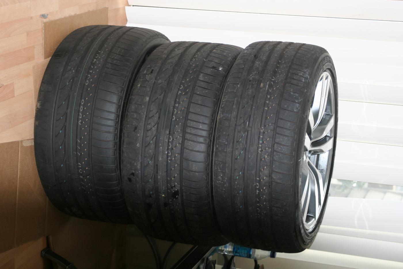 Bmw X6 M Oem Forged Performance Wheels Rft Tires Tpms