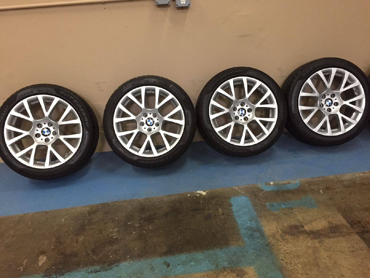 Sold Winter Set Up Bmw 238 19 Quot Wheels And Tires For
