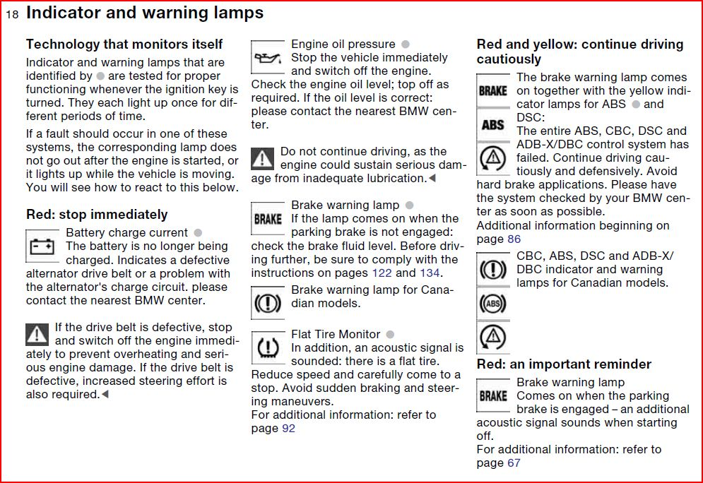 Bmw X3 Warning Symbols Http Www Xoutpost Com Bmw Sav Forums Other