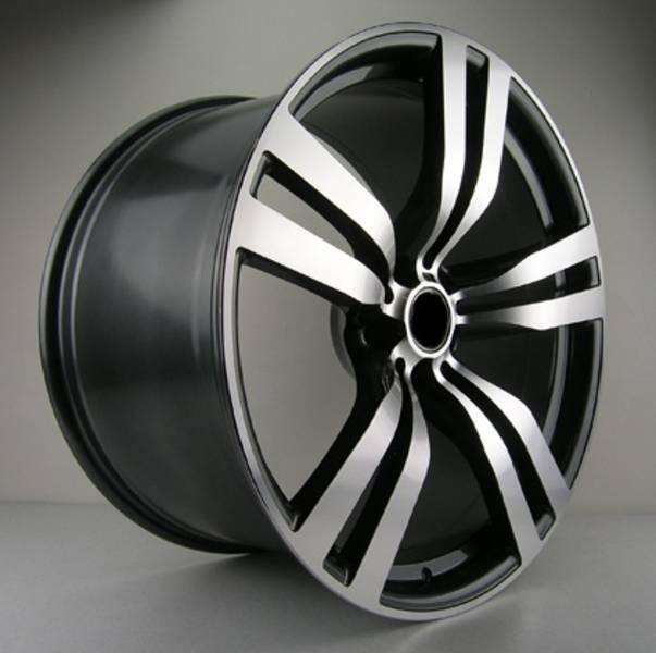 "Bmw X6 Rims: 22"" WR.X6M WHEELS SET FOR BMW E70 E71 X5 X6 RIMS NEW SET"
