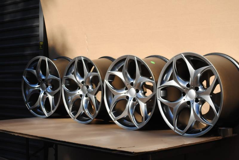 20 Quot Wr 03 Bmw Staggered Wheels X5 X5m X6 X6m Rim