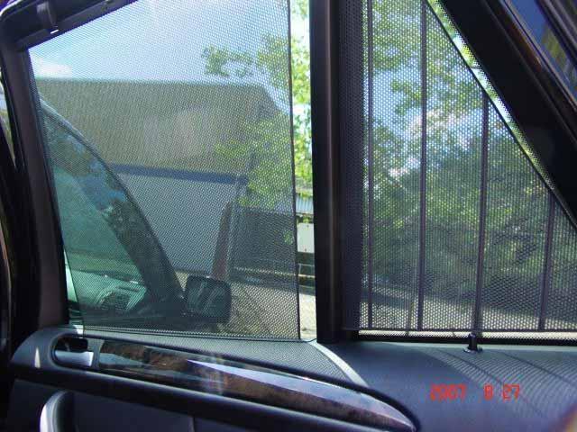 Sun Shade Net At Rear Door Panel For X5 E53 Xoutpost Com