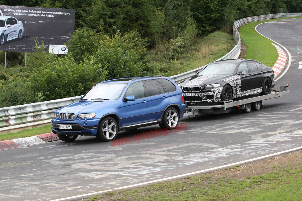 Seems Bmw Likes X5 For Towing Too Xoutpost Com