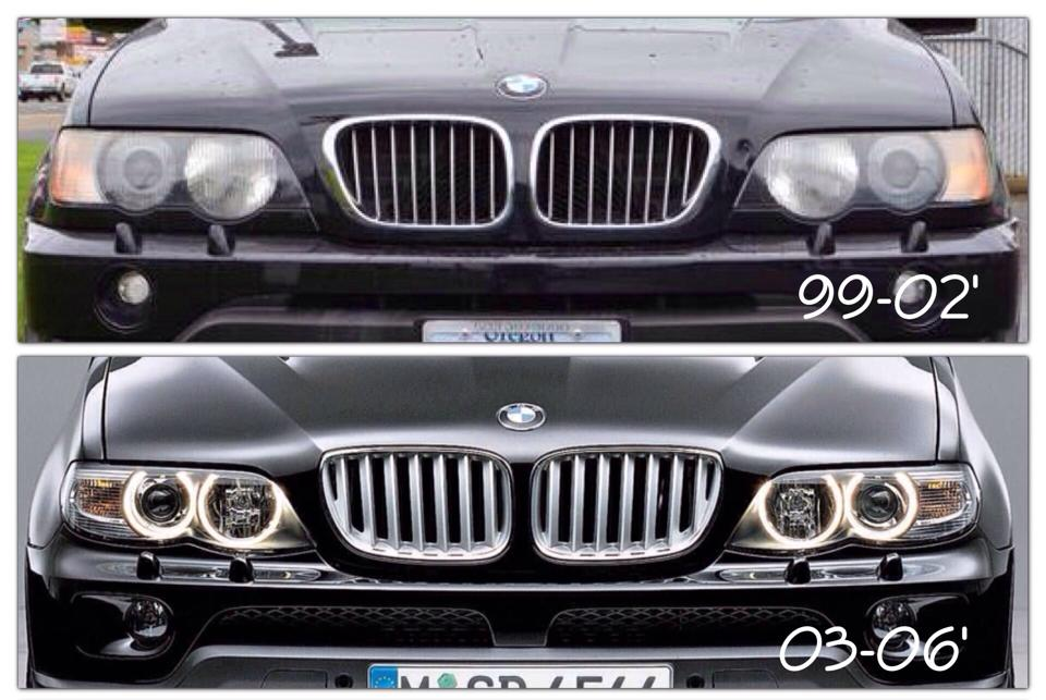 E53 Grille Facelift Fits On Xoutpost Com