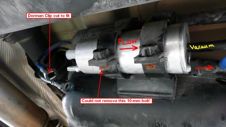 DIY: 2006 BMW X5 3.0i Fuel Filter - Xoutpost.com   X5 Fuel Filter      Xoutpost