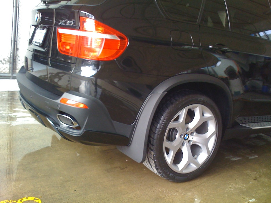 has anyone seen rear mud flap like these for a x53 ...