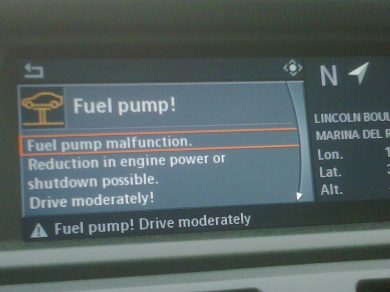 Fuel Pump Malfunction X5 35d Xoutpost Com