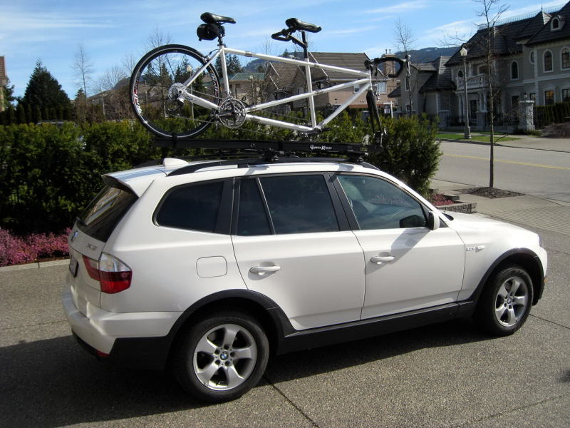 X5 With Roof Mounted Bike Racks Page 2 Xoutpost Com