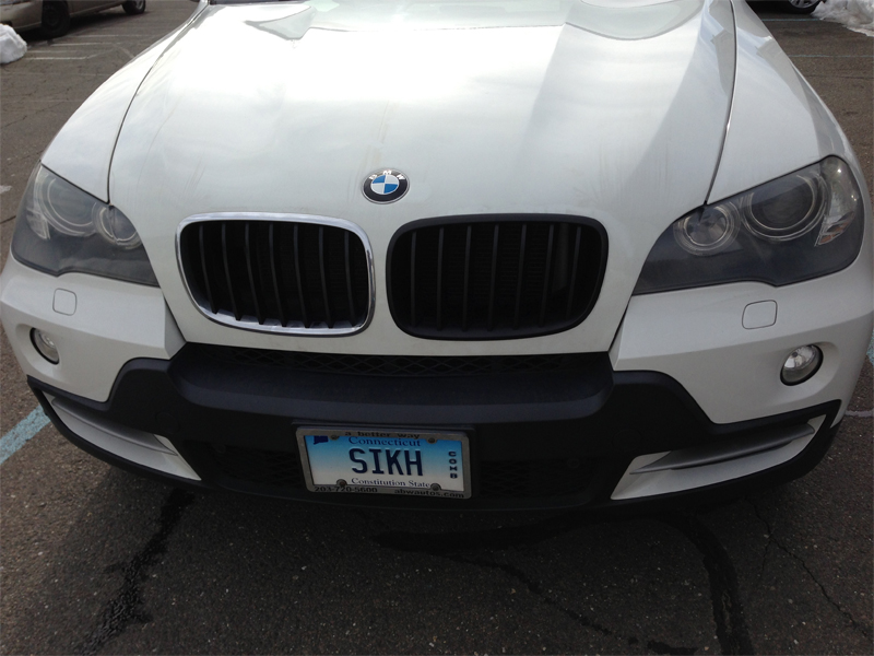 My First E70 Quot Mod Quot Black Kidney Grill Xoutpost Com