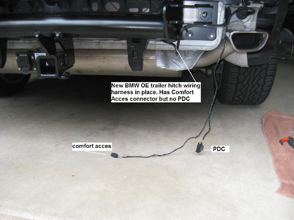How To Install A Wiring Harness For A Trailer Hitch : Solved part need help with e lci trailer hitch