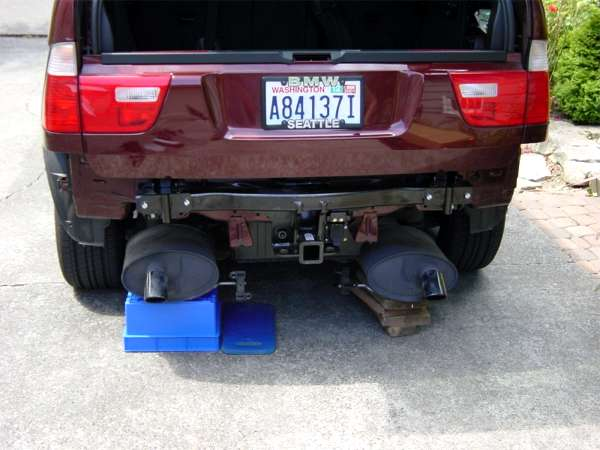 BMW X5 Hitch Installation Tips - Xoutpost.com Bmw Tow Bar Wiring Harness on