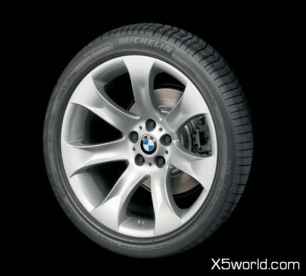 "Bmw X5 Wheels: BMW X5 4.8is 2005 OEM 20"" Wheels Style# 168 Staggered"